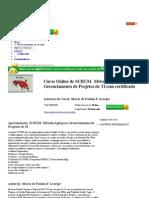 Curso Online de SCRUM- Método Ágil para Gerenciamento de Projetos de TI!