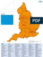 KCSN Map of PCTs in England