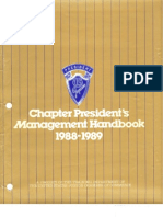 Chapter Presidents Handbook Part A