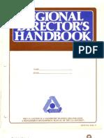 Regional Director's Handbook