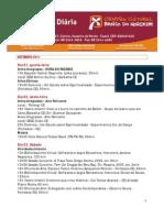 Agenda CCBNB Cariri - Setembro 2011