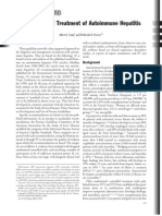 Diagnosis and Treatment of Autoimmune Hepatitis