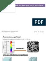 Métodos de síntesis de nanopartículas