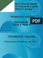 TROMBOSIS VENOSA1