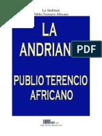 """PLUBIO TERENCIO """"El Africano"""" - La Andriana"""