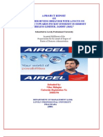 50067616 Aircel Project Report