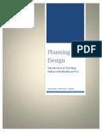 EDTECH 512 - PLANNING - Planning for Design