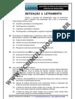 ALFABETIZAÇÃO E LETRAMENTO - SIMULADO 2012 - VCSIMULADOS.COM.BR