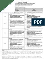 GameStar Mechanic Criteria D - Evaluating PDF