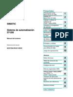 Sistema de Automatizacion S7 200
