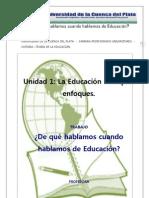 TP Es Necesaria La Educacion Analizando PEREZ LINDO