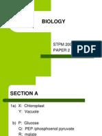 Biology 2009 Stpm
