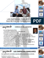 Las Empresas Familiares y sus retos de formalización