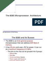 8085 Arch_Interfacing IO