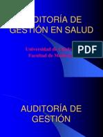 Auditoria de Gestión en Salud