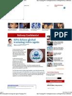 EPA Delays Global Warming Rules Again