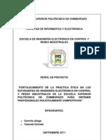 PROYECTO DE TANSPARENCIA DE LA GESTIÓN