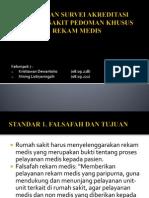 Pedoman Survei Akreditasi Rumah Sakit Pedoman Khusus