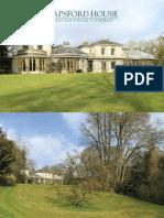 Hapsford House Brochure