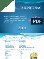 Caso- El Triunfo (Costeo Directo y Absorbente