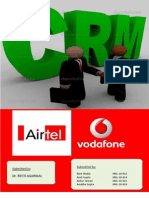 Crm Process Airtel vs Vodafone