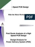 New High Speed PCB Board Design