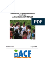 ACF 2010 Capitalization Manual