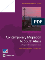 Contemporary Migration to South Africa