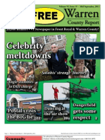 The Mid September, 2011 edition of Warren County Report