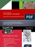 Tipografi Aplikasi