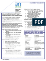 Equipment Reliability Analysis