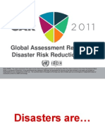 Global Assessment Report for Disaster Risk Reduction 2011 presented by Jerry Velasquez, UN International Strategy for Disaster Reduction Asia and Pacific
