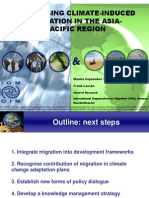 Addressing Climate-Induced Migration in the Asia and the Pacific by Frank Laczko, IOM