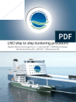 LNG STS Bunkering Procedure