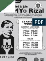 PreMyo Rizal Invite