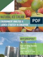 Natural Ice Cream - Singapore