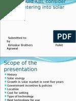 Pulkit Ppt on Solar 2