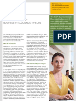 What's New  SAP BusinessObjects Business Intelligence 4 0 Suite