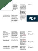 Descripción pdb