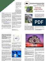 Predigtskript 2008-10-12, HG 2, Frucht Des Heiligen Geistes