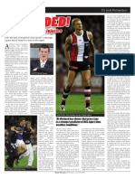 Grounded! The science on AFL injuries