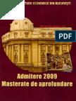 Subiecte Admitere Mastere ASE 2008