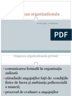 Diagnoza organizationala