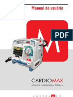 Cardioversor Instramed Cardiomax Manual