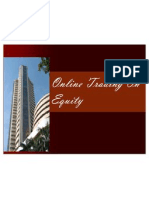 Ppt on Online Trading on Equity