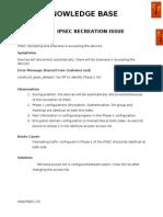 IPSEC Recreation