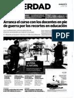 Concentración 13-09-11. La Verdad de Albacete