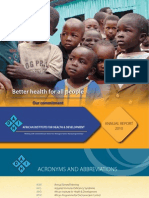 AIHD Annual Report 2010