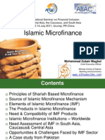 Islamic Micro Finance by Muhammad Zubair Mughal, ADBI International Seminar