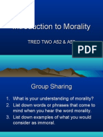 Introduction to Morality